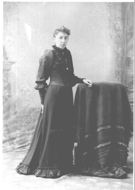 Caroline (Carrie) Celestia Ingalls Swanzey -- Sister of Laura Ingalls Wilder #SD #Pioneer
