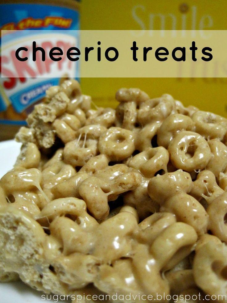 how to make cheerio treats