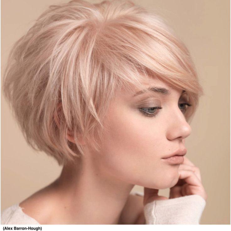 Pixie Bob Hairstyles Medium Blonde Frisuren Kurzhaar Bei Haarausfall Frauen