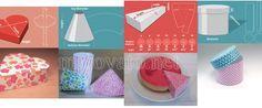 Настраиваемые шаблоны для создания подарочных коробок из бумаги