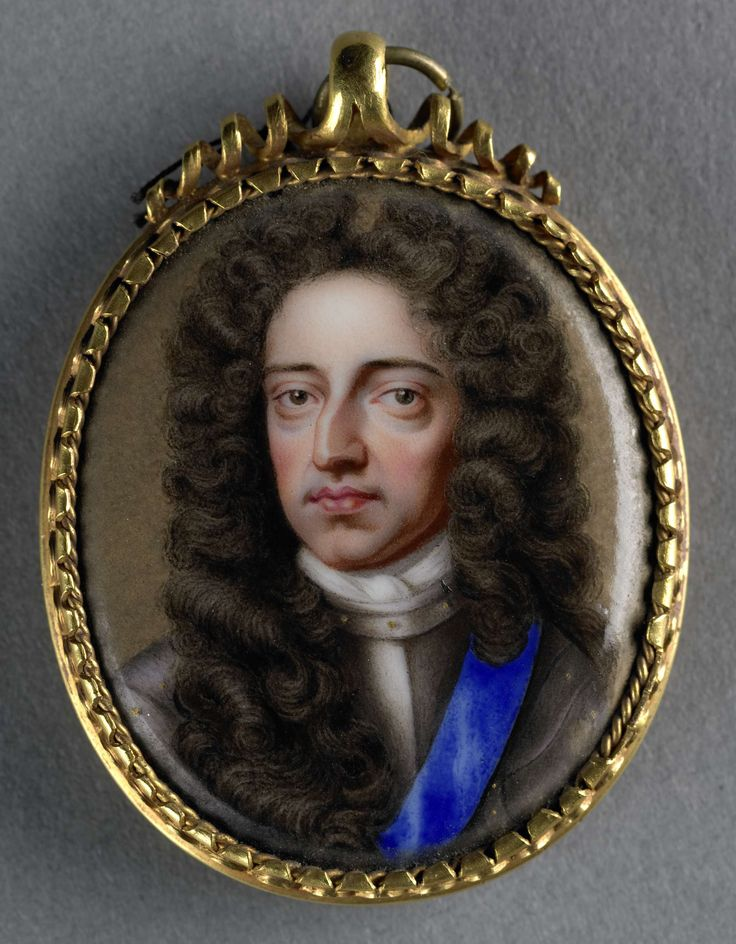 William III (1650-1702), Prince of Orange. King of England, Ruled with Mary ll. attributed to Charles Boit, 1690 - 1727