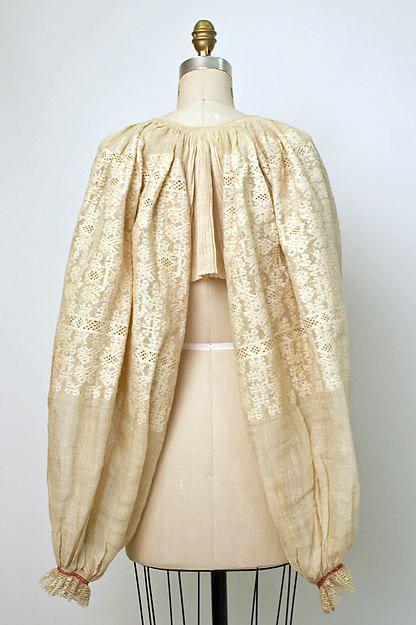 Croatia, narodna nošnja okolice Siska iz sela Sunjska Greda, croatian blouse (19th century)