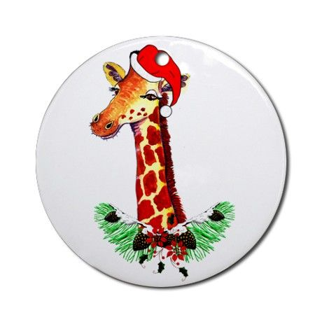 72 best giraffe christmas oranments images on Pinterest ...