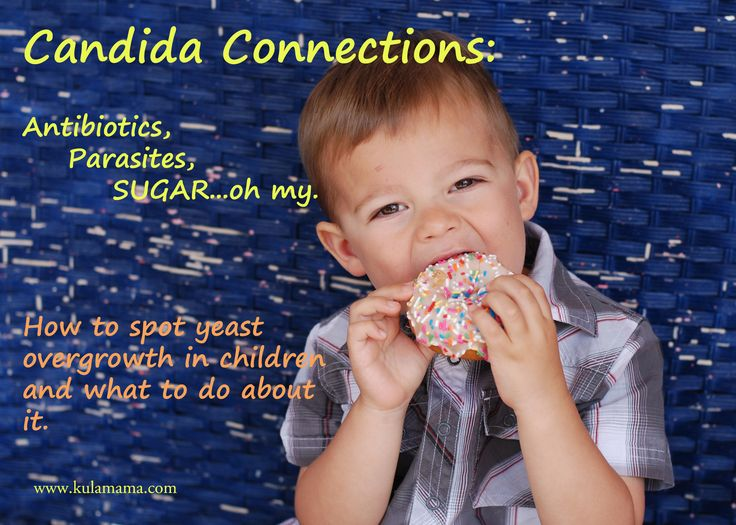 Holistic remedies for candida and yeast in children by www.kulamama.com