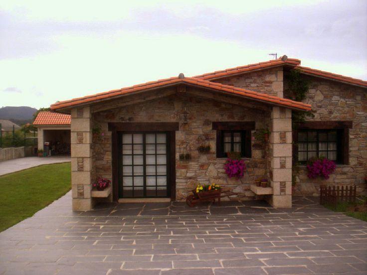 Resultado de imagen para planos de casas campestres peque as ventanas pinterest searching - Casas de una planta rusticas ...
