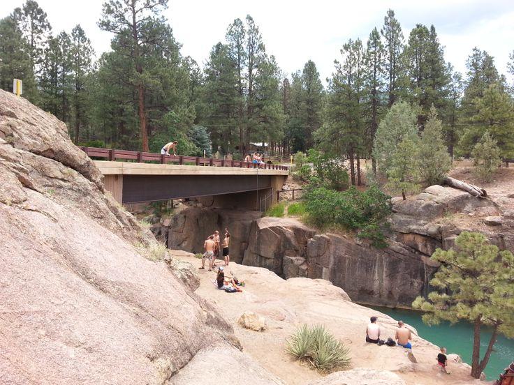 *Bakers Bridge, about 13 miles north of Durango Cliff