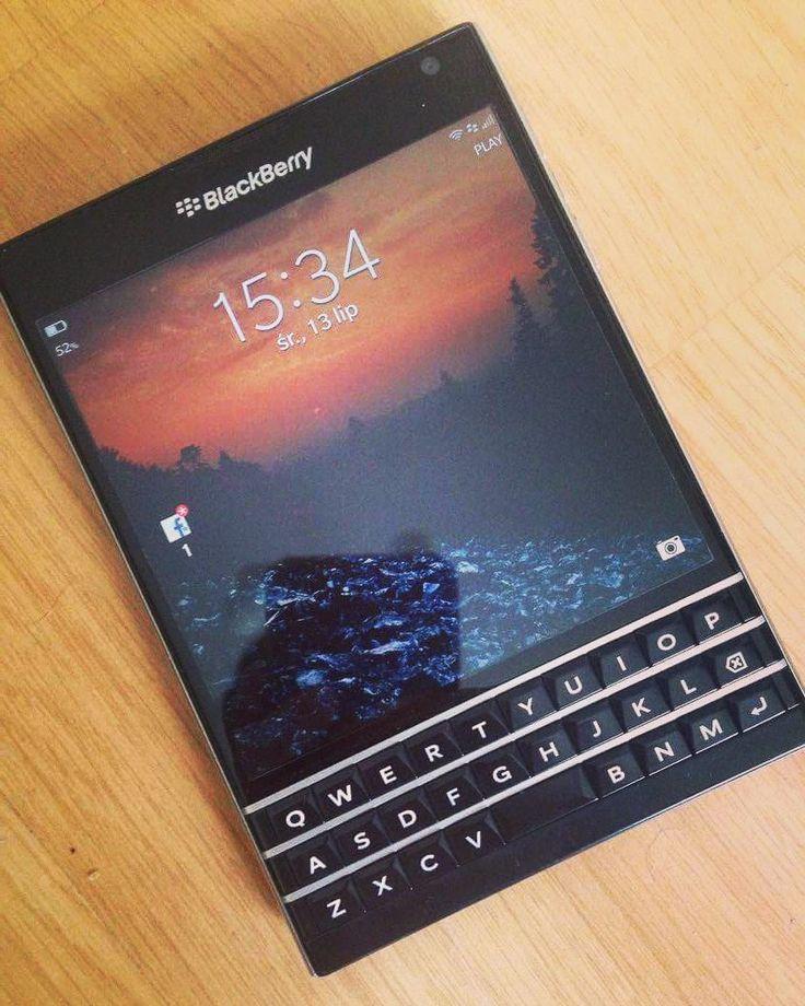 BlackBerry Passport #WorkWide #PoweredByBlackBerry #XtremeBBerry #ILoveBB10 #IChooseBlackBerry #LoveBlackBerry #LifeStyle #Amazing #Luxury #Amazing #LuxuryBlackBerry  __________________________________________  #ReGram @damianciu: W końcu mam telefon z klawiaturą :) #blackberry #passport #blackberypassport #rim #bbos