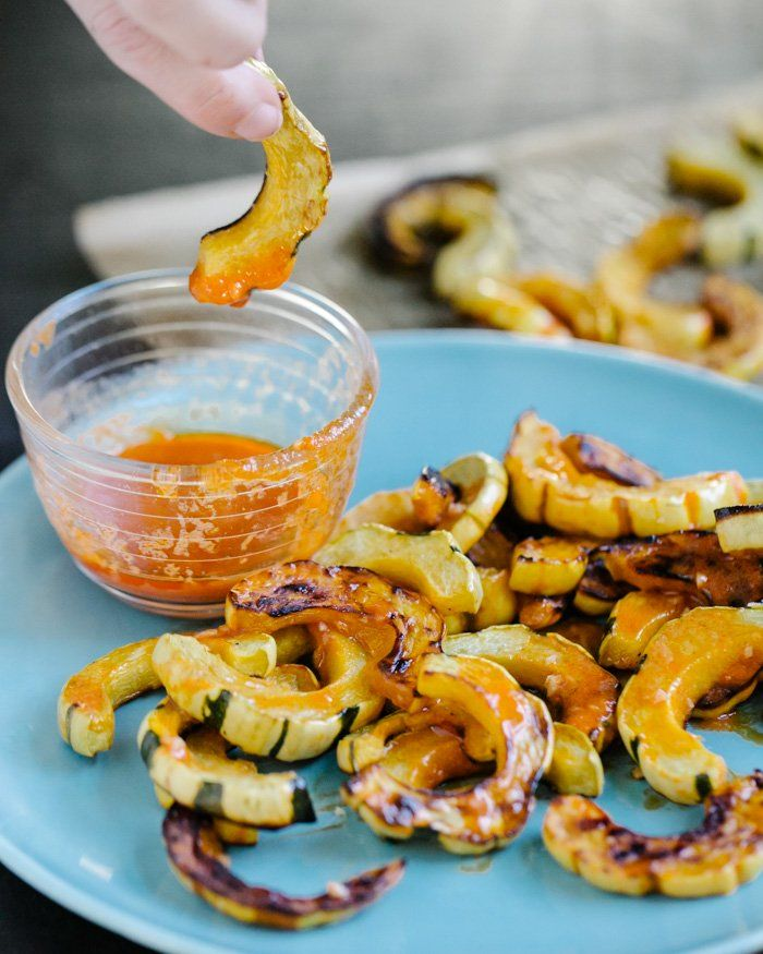 106 best delicata squash recipes images on pinterest clean roasted delicata squash fries with buffalo sauce forumfinder Images