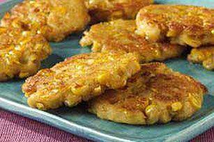 Corn Cakes (Cachapas) recipe