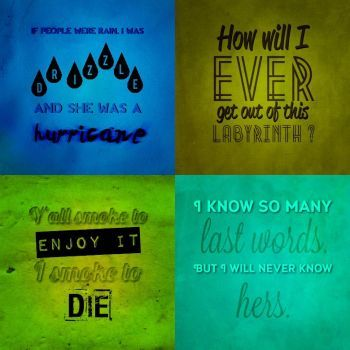 Fav quotes on Looking for Alaska, by John Green by lucianopjo