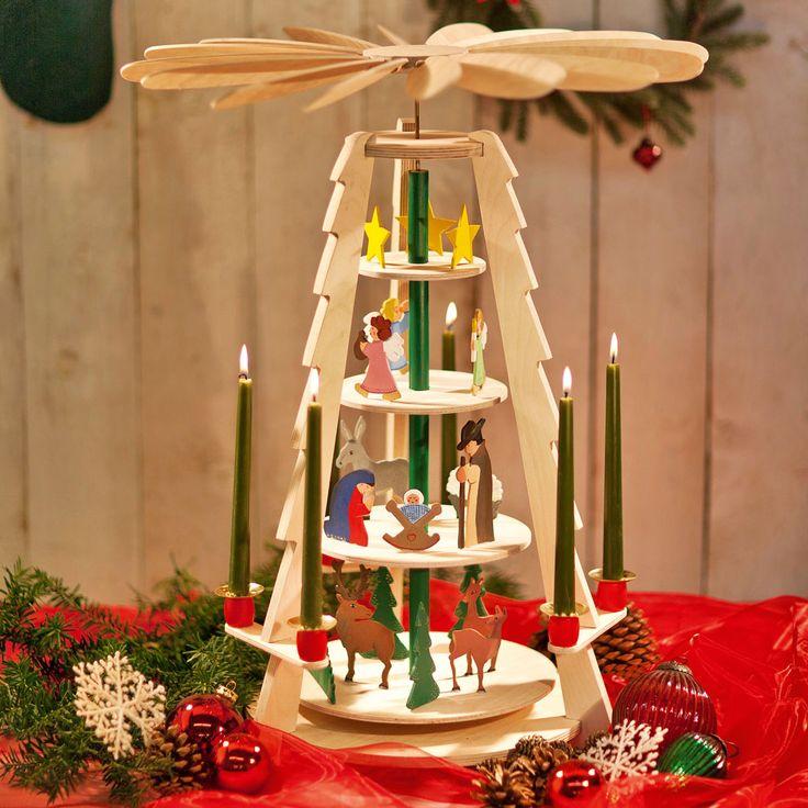 Die Pyramide ist ein Weihnachtsklassiker: Beim Bau unserer vier-etagigen Weihnachtspyramide (Bauplan 12/2011) kann die ganze Familie helfen