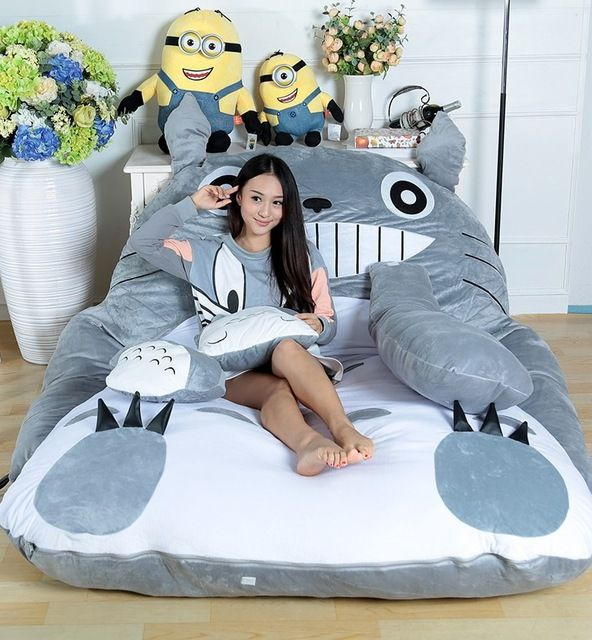 Totoro Sleeping Bag Sofa This Could Be A Great Best Gift For Birthday Boys Kids And Little Men Christmas Girlfri Lazy Sofa Small Bedroom Sofa Mattress Sofa