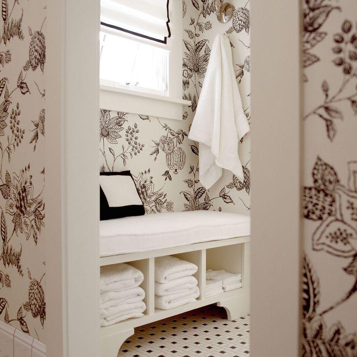 Bathroom Bench Seat Storage, White Bathroom Bench With Storage