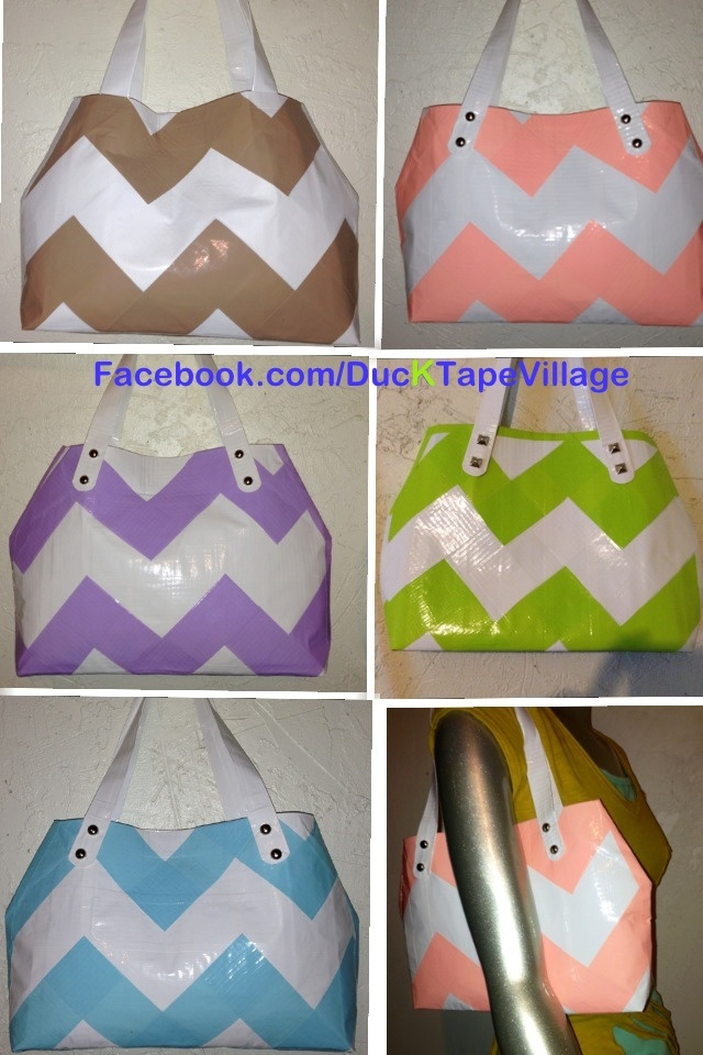 how to make chevron pattern with tape