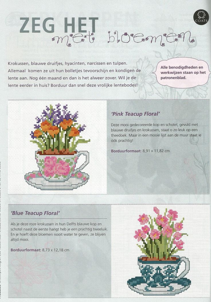 Pink Teacup Floral & blue Teacup floral - Firma Coats
