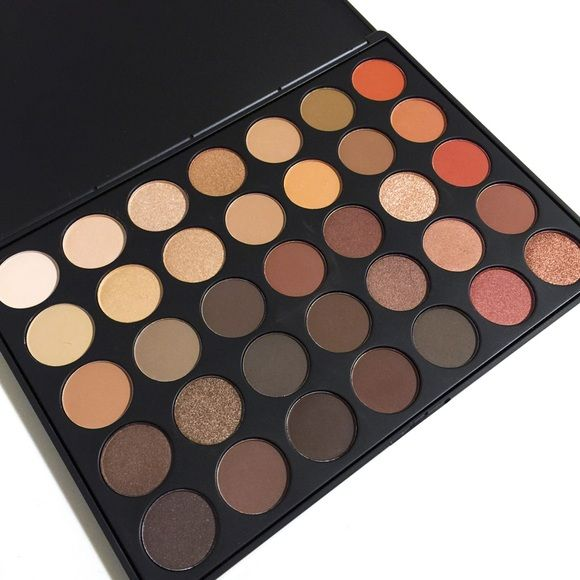 Morphe 35O Eye Palette  I WILL BE TAKING THIS OFF THE SITE SOON I'm tired of all the ugliness ONE piece of makeup has brought out of people. I'd rather sell it somewhere else.  SOLD OUT EVERYWHERE! Gorgeous set of 35 Morphe eyeshadows in beautiful gold and tan shades. Brand new, in original box. Make your best offer.  IF YOU AREN'T ASKING A QUESTION ABOUT THE LISTING OR ADDING ANYTHING OF VALUE TO THE CONVERSATION, KINDLY MOVE ON. PROMOTION, SPAM AND NEGATIVITY WILL BE REPORTED AND BLOCKED…
