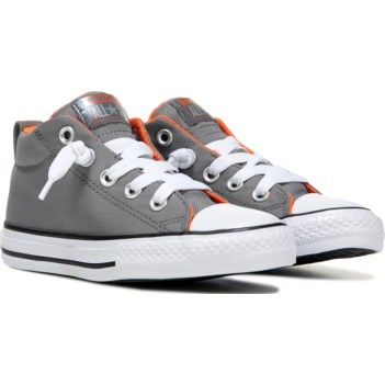 Converse Kids' Chuck Taylor All Star Street Mid Top Sneaker at Famous Footwear