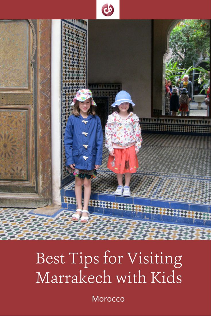Exploring Marrakech, Morocco with Kids
