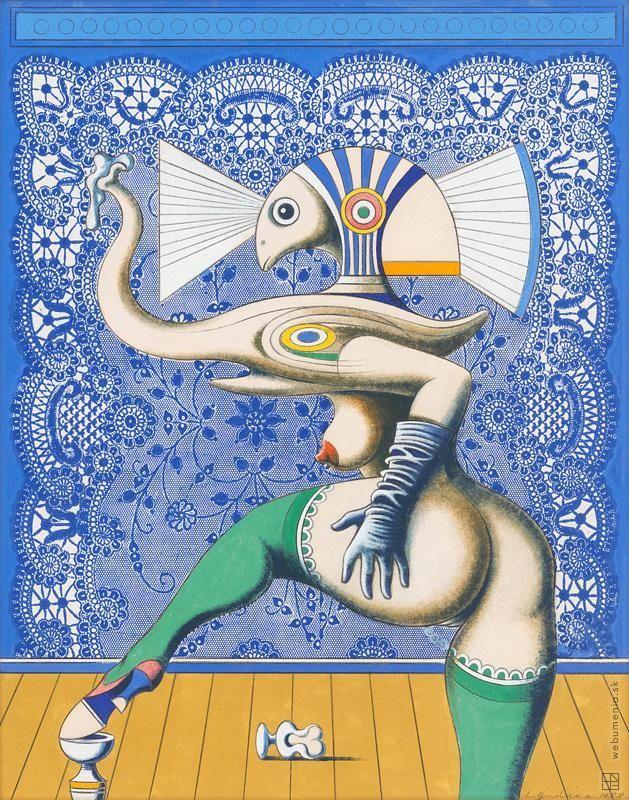 Ladislav Guderna: Dancer:1988