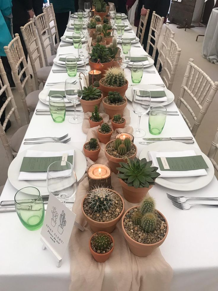 A desert inspired tablescape styled for the Wedding