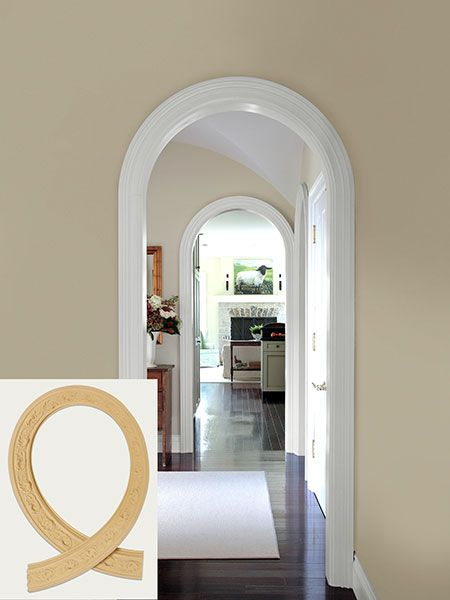17 best ideas about archway decor on pinterest cool for Decorative archway mouldings