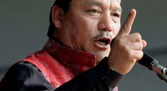"Darjeeling: The Gorkha Janmukti Morcha (GJM) chief Bimal Gurung today projected himself as the ""chief minister of the hills"" and challenged West Bengal Chief Minister Mamata Banerjee to stop the agitation in the area. The GJM leader claimed that it was his writ that ""ran in the..."