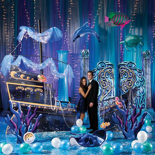 90 best images about beach party on pinterest parties for Baby shower stage decoration