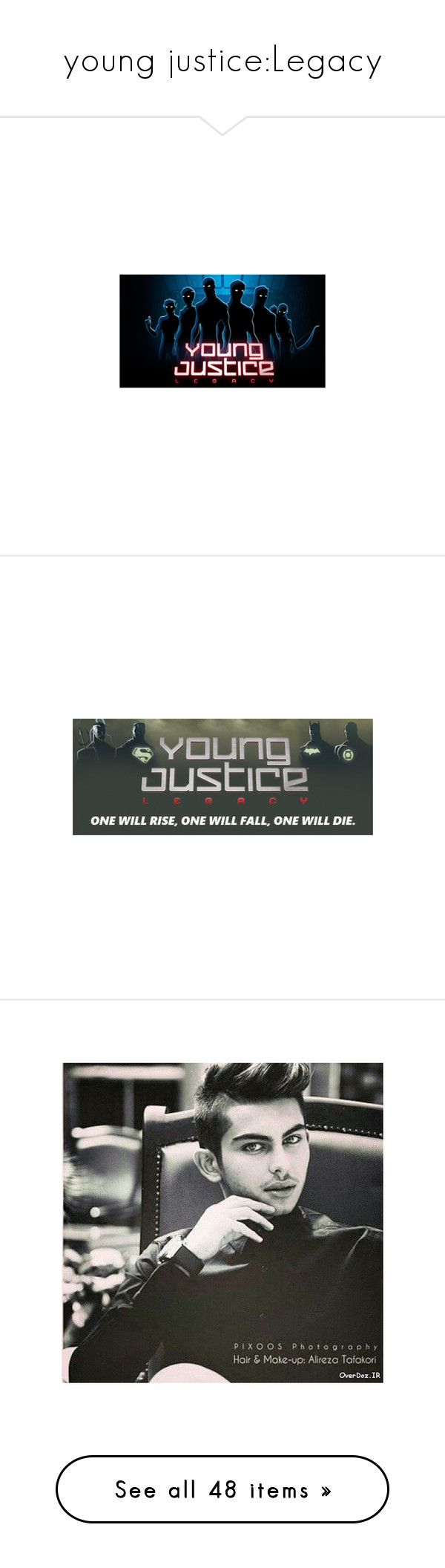 """""""young justice:Legacy"""" by thatkrazifan ❤ liked on Polyvore featuring home, home decor, kitchen & dining, henry cavill, dawn of the gods, ezra miller, people, zoe saldana, models and mortal instruments"""