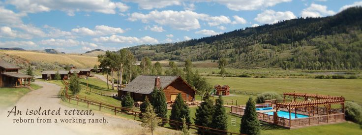 14 best where i want to live images on pinterest dude for Jackson hole wyoming honeymoon cabins