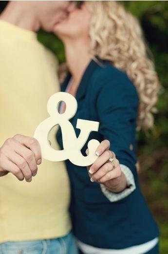 Ampersand engagement photo!