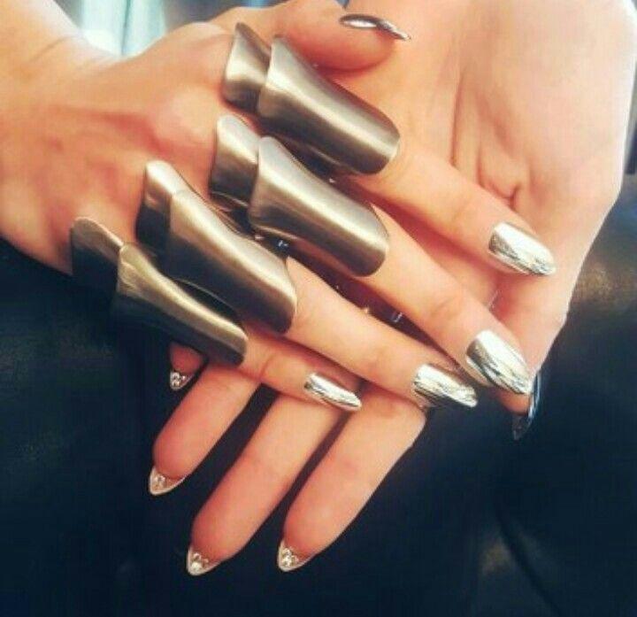 Mejores 127 imágenes de nails en Pinterest | Diseño de uñas, Diseños ...