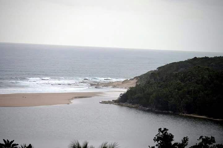 River mouth #KZN Port Edward