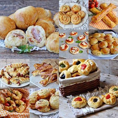 Stuzzichini per aperitivo e buffet ricette veloci e sfiziose,raccolta ricetta facili da preparare per Vigilia e Natale semplici