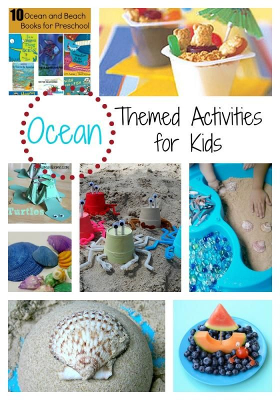 Ocean and Beach Themed Activities - Mamas Like Me