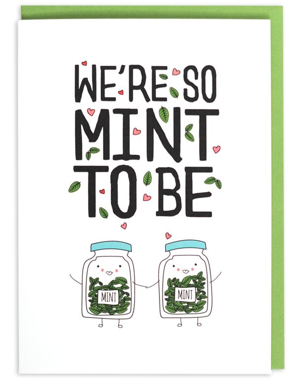 We go together like peanut butter and jelly, like milk and cookies, like bacon and eggs, like salt and pepper. We're just that meant to be. The sentiment is perfect for lovers, perfect for friends. •