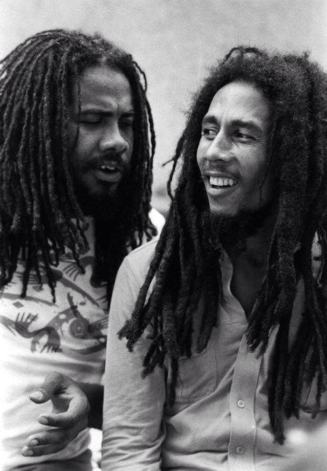 *Jacob Miller* & Bob Marley. More fantastic pictures and videos of *Bob Marley & Jacob Miller* on: https://de.pinterest.com/ReggaeHeart/