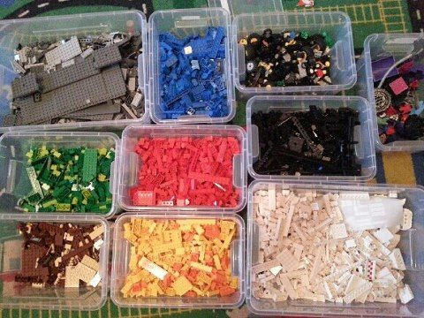 40  Awesome Lego Storage Ideas  get these from the dollar store