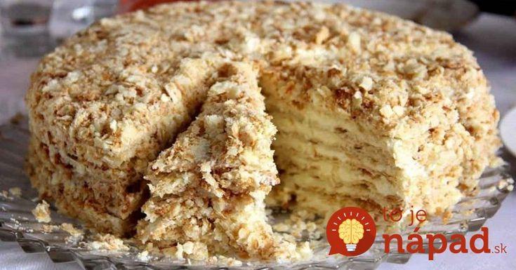 Famózna orechová torta zo Salka, ktorú pripravíte na panvici!