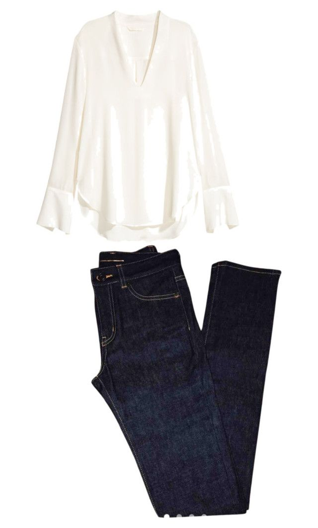 """""""Look mujer 6"""" by angelaguirrem on Polyvore featuring moda y Yves Saint Laurent"""