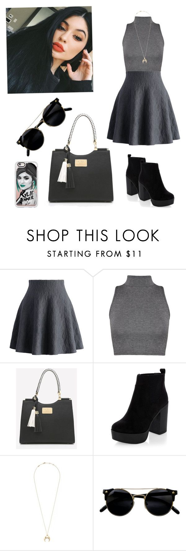 """""""Simple but cute """" by tai-rah on Polyvore featuring Chicwish, WearAll, New Look, Chloé and Casetify"""