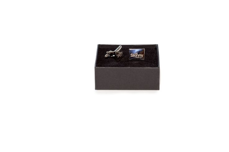Skinny engaged with The Collateral Company to have these stylish cufflinks produced as a corporate gift.
