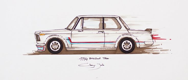 Bmw 2002 Drawing Bmw 02 Series Pinterest Bmw 2002