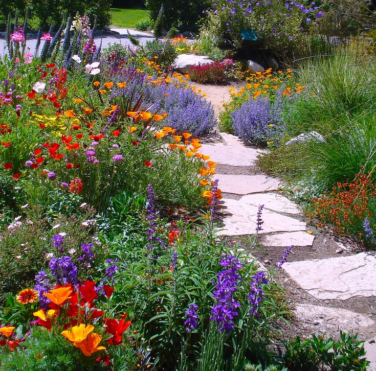Whimsical Garden Ideas | Summer Flowers Garden This Colorful Summer Garden I