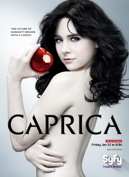Alessandra Torresani -- Going to start watching Caprica soon, heard it's not as good as BSG tho.