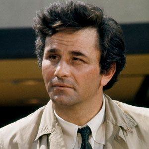 """""""Just one more thing.....""""  Peter Falk as Lt. Columbo.  I think I know every single episode by heart!"""