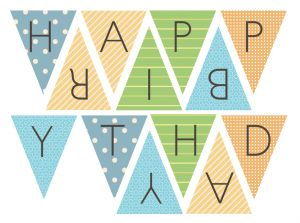 Best 25+ Printable birthday banner ideas on Pinterest | Printable ...