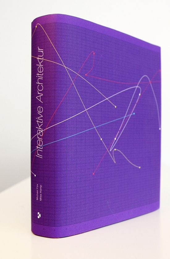 "Book cover design for ""Interaktive Architektur"" by Matthias Dörfelt (www.mokafolio.de)"