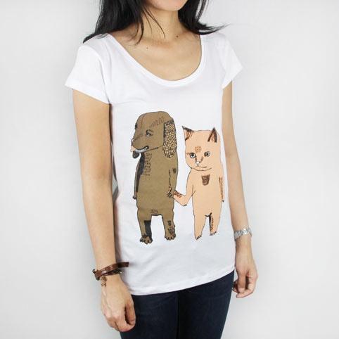 Monsterthreads Dog & Cat Girls girls tee