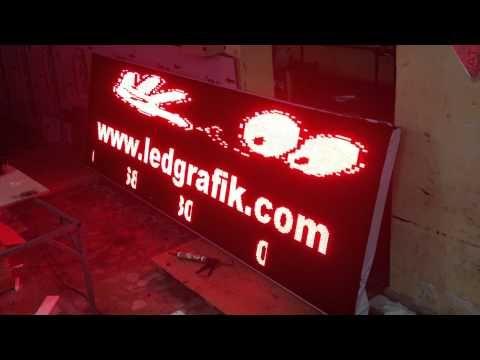 Kayan Yazı 0216 680 32 30 - 693 00 01 Led Grafik - YouTube