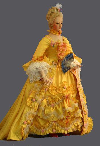 Madame de Pompadour Doll.